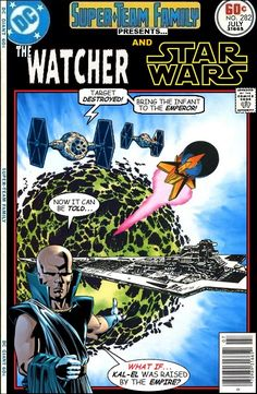 Super-Team Family: The Lost Issues!: The Watcher and Star Wars
