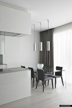 Contemporary Apartment at Mirax Plaza // Boris Uborevich-Borovsky | Afflante.com