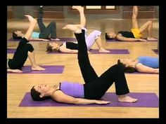 Find your spot pilates for legs part 1 with Ellen Barret.