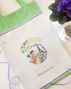 Veronique Enginger / Souvenirs Bag Cross Stitch