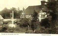 The Old Inn (nka the George & Dragon) at Speldhurst c 1900.