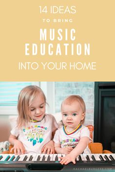 Are you looking for ways to entertain your kids during the (coronavirus) world pandemic? Here are 14 ideas for teaching music at home for music in our schools month. Music Education Games, Music Activities, Teaching Music, Music Hacks, Online Music Lessons, Cs Lewis Quotes, Little Einsteins, Fun Songs, Famous Movie Quotes