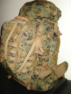 ILBE Main Pack USMC Generation 2 With Assault Pack: Sports & Outdoors. I think this would be an affordable 72 Hour pack this will be my second pack for long trips. Survival Supplies, Survival Gear, Wilderness Survival, Tactical Vest, Tactical Backpack, Molle Gear, Assault Pack, Best Camping Gear, Chest Rig