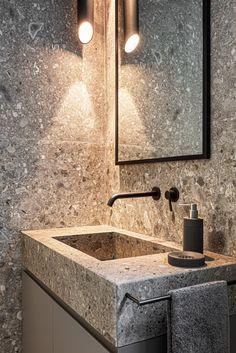 Wet Room Bathroom, Bathroom Layout, Modern Bathroom, Bathrooms, Bathroom Trends, Bathroom Renovations, Dream Home Design, House Design, Washbasin Design