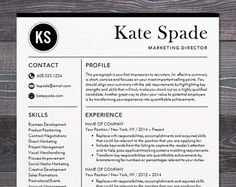Creative Resume Template Modern Design Mac By TheShineDesignStudio  Free Modern Resume Templates For Word