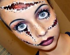 2014 The Most Scary Halloween Make ideas for Ladies  Although make up is like an ornament for ladies. They cant stay away from make up because it gives spark, style, Glow, Brightness, Attractiveness and magnificent looks to them. http://thefitnesstips.com/scary-halloween-ideas-ladies  ▶▶More FITNESS TIPS AND ADVICE ●►Keep ѕнαяιng ●► тαg: ●► Hit ℓιкє ► The Fitness Tips  #Halloween #Halloweenday #Halloweenworkouts
