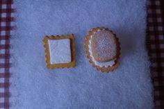 Galletas y polvorón de anillos.