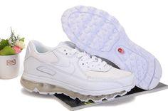 Man Nike Air Max 09+90 Skor Vit 58273