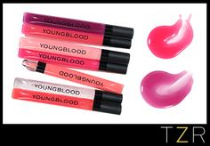 Youngblood Cosmetics Mighty Shiny Lip Gels | The Zoe Report