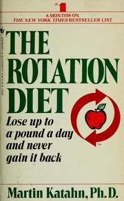 The Rotation Diet - very popular in the 80s