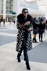 vintage fur coat