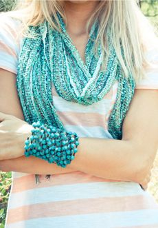 The Mommy Teacher and Steph Ehlers with Trades of Hope are giving away this Aqua Nepali Scarf... July 1-July 4 and I want one too!!!  Go enter http://www.themommyteacher/trades-of-hope-giveaway/