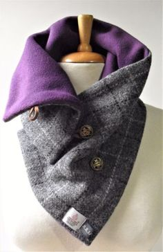 Astounding Must Have Sewing Gadgets Ideas. Marvelously Must Have Sewing Gadgets Ideas. Sewing Scarves, Sewing Clothes, Couture Steampunk, Snood Scarf, Couture Sewing, Harris Tweed, Sewing Accessories, Sewing For Beginners, Neck Scarves
