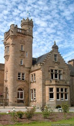 Mansfield Castle in The Highlands of Scotland. Someday I shall go to scotland Scotland Castles, Scottish Castles, Scotland Uk, Beautiful Castles, Beautiful Places, Wonderful Places, Places To Travel, Places To See, Château Fort