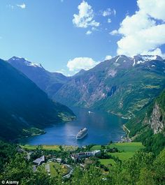 Norwegian fjords, back to GG's roots!