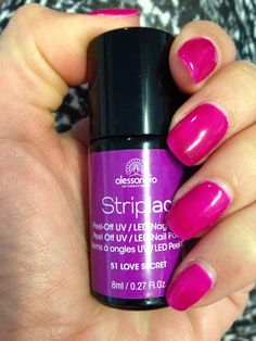 Striplac Love Secret 51 - obsessed with this color!