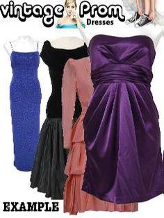 Rustyzipper.com Vintage Dresses