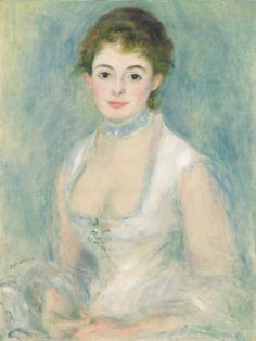 Renoir, Auguste French, 1841 - 1919 Madame Henriot c. 1876