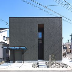 Home Decorating On A Budget Facade Architecture, Contemporary Architecture, Japanese Modern House, Do It Yourself Home, Interior And Exterior, House Design, Building, Architects, Cube