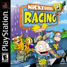 Nicktoons Racing Race as--and compete against--your favorite Nicktoons characters. The 12 characters are from shows like Rugrats, The Wild Thornberrys, CatDog, V Games, Games For Kids, Video Games, The Wild Thornberrys, Small Business Software, Playstation Games, Rugrats, Movie Collection, I Am Game