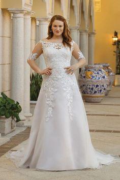 Bruidsjurken Utrecht.94 Beste Afbeeldingen Van Plussize Wedding Dresses In 2019