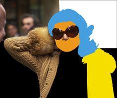 Jacqueline Kennedy Onassis in New York City, October 17, 1973 - john baldessari 6