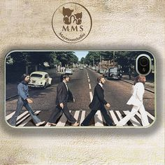 The Beatles, iPhone 5 Case, iPhone 4/4s Case, Samsung GS3-Silicone Rubber or Hard Plastic Case, Personal Phone case-Beatles case-07 on Etsy, $13.99
