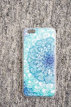 Ocean Mandala iPhone Case.