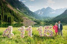 Save the Date with a happy on a beautiful evening at the Aspen Colorado, Local Artists, Main Street, Couple Photography, Portrait Photographers, Engagement, Creative, Happy, Beautiful