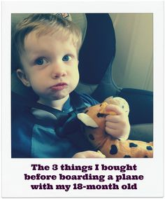How do you fly with an 18-month old? Or, the three things I bought before boarding a plane with my son. theshortcutmom.com