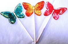 tutorial: how to make butterfly lollipops
