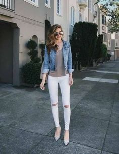 Moda casual femenina ideas jackets ideas for 2019 Cute Spring Outfits, Simple Outfits, Pretty Outfits, Cool Outfits, Casual Outfits, Fashion Outfits, Casual Ootd, Jackets Fashion, Casual Heels