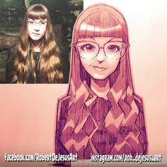 Notsoneutral pencil sketch/digitally shaded. #glasses #wavyhair #blackjacket #longhair #ginger #selfie #draw #drawing #reference #anime #animesketch #animedrawing #pencil #pencilsketch #pencildrawing #characterdesign #myart #artwork #illustration #deviantart #facebook