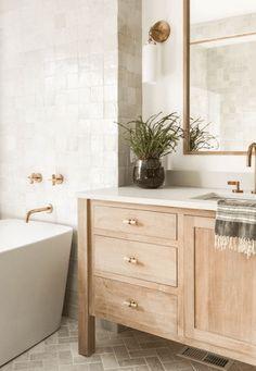 Bathroom Renos, Laundry In Bathroom, Bathroom Ideas, Budget Bathroom, Small Bathroom, Natural Bathroom, Washroom, Bathroom Styling, Bathroom Designs