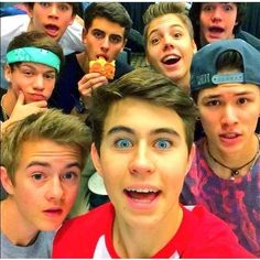 Favorite Viners! ❤ liked on Polyvore featuring magcon, pictures, people, youtubers and boys