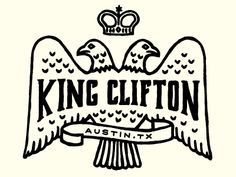 King Clifton rough sketch by Keith Davis Young