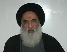 Sistani: from defending his country and currently is a martyr ... and calls to take up arms and fight the terrorists
