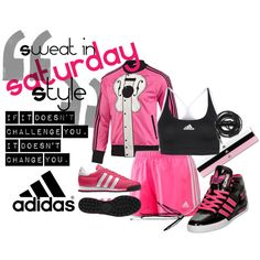 """Sweat in Style SATURDAY"" by soo-kimberley-noh on Polyvore"