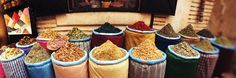 Spice Market Inside the Medina in Marrakesh, Morocco Photographie par Panoramic Images sur AllPosters.fr