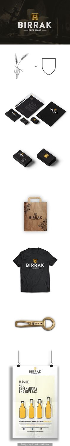 BIRRAK Beer Store - Identity by Yeray Vega