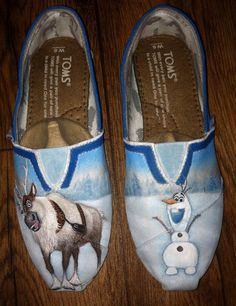 Hey, I found this really awesome Etsy listing at https://www.etsy.com/listing/175548453/custom-hand-painted-shoes-frozen