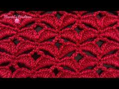 A CROCHET: Puntada de Pétalos (Petals Stitch) - YouTube