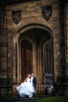Allerton Castle Wedding Photography » Yorkshire Wedding Photographer Bristo Photography