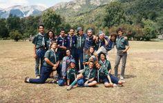Posta Mixta en el Campamento Anual Mascardi 1990.-