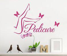 Imagen relacionada Nail Salon Decor, Beauty Salon Decor, Parlour Design, Liz Palacios, Cricut Stencils, Manicure E Pedicure, Beauty Studio, Nail Bar, My Beauty