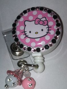 Hello Kitty Pink/Black Bling