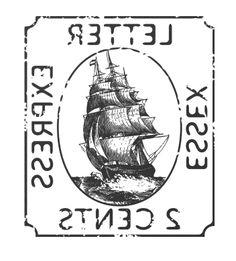 Stamp Typography