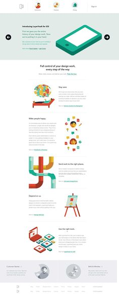 Unique Web Design, LayerVault #webdesign #design (http://www.pinterest.com/aldenchong/)