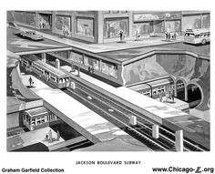 chicago subway tunnels - Google Search