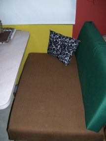 Cheap RV Dinette Cushions Without Sewing A Thing - good to know, I am not a seamstress